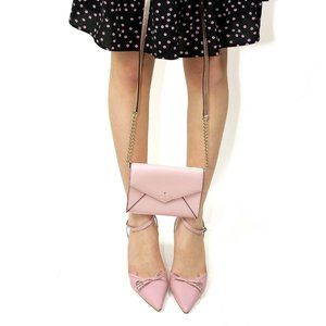 Kate Spade Pink Envelope Crossbody Bag